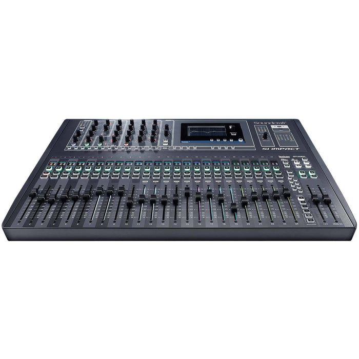 Soundcraft Si Impact - 40-input Digital Mixing Console and 32-in/32-out USB Interface and iPad Control