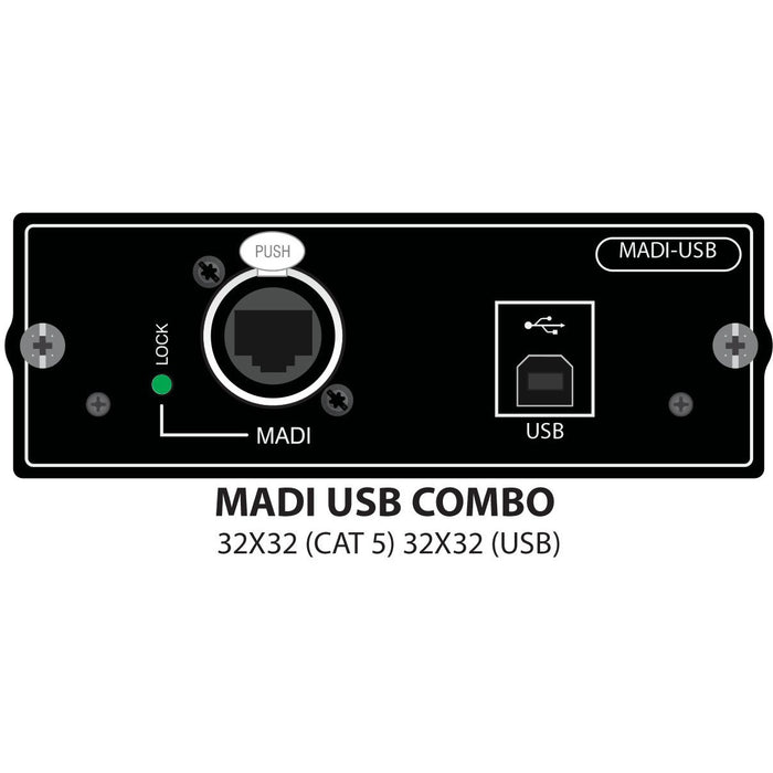 Soundcraft Si Series MADI/USB Card