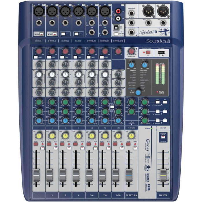 Soundcraft Signature 10 USB Interface Mixer