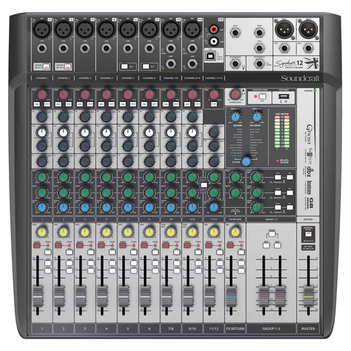 Soundcraft Signature 12 MTK USB Interface Mixer