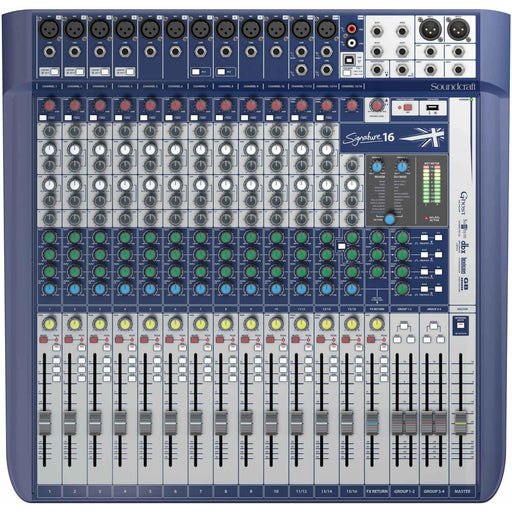 Soundcraft Signature 16 USB Interface Mixer