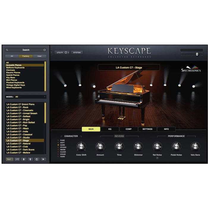 Spectrasonics Keyscape - Virtual Keyboard Collection