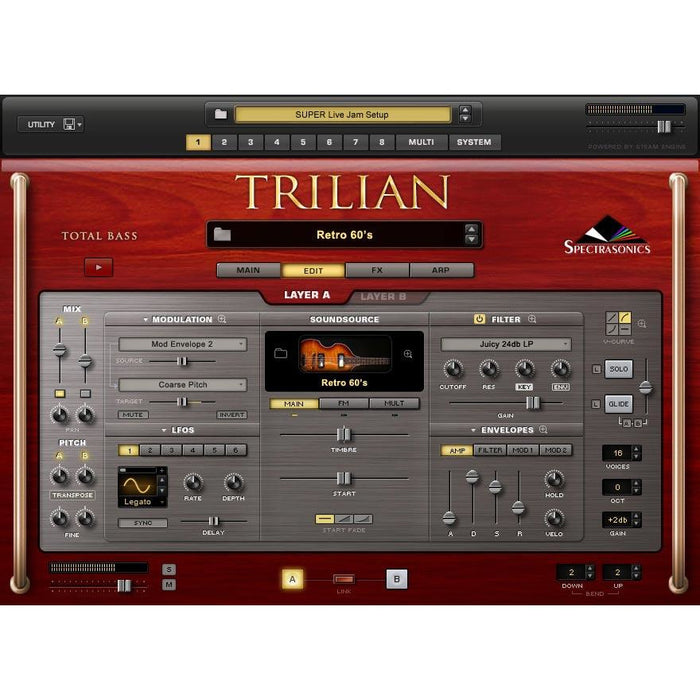 Spectrasonics Trilian Software