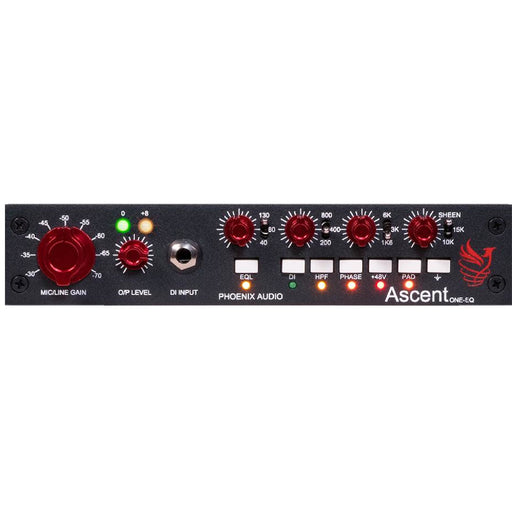 Phoenix Audio Ascent ONE-EQ - Class A Mic Pre with Gyrator EQ