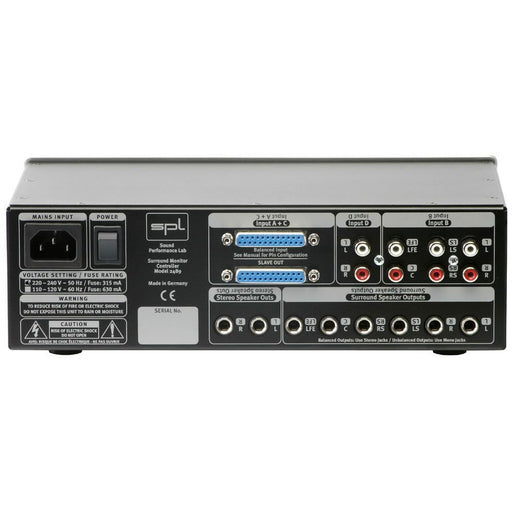 SPL 2489 - Surround Monitor Controller