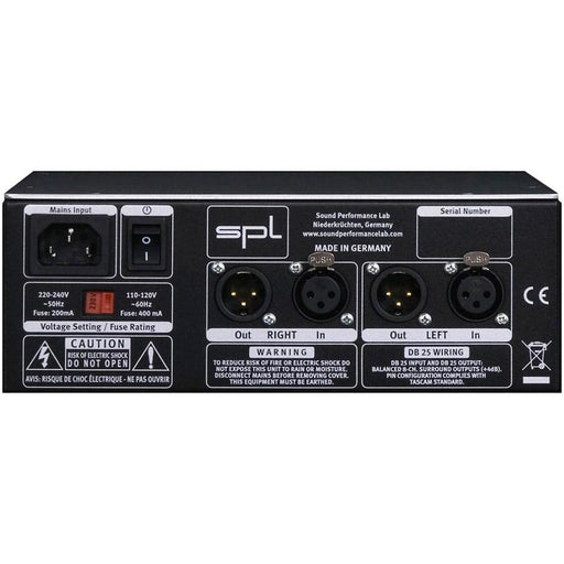 SPL 2Control Model 2861 Speaker & Headphone Monitoring Controller