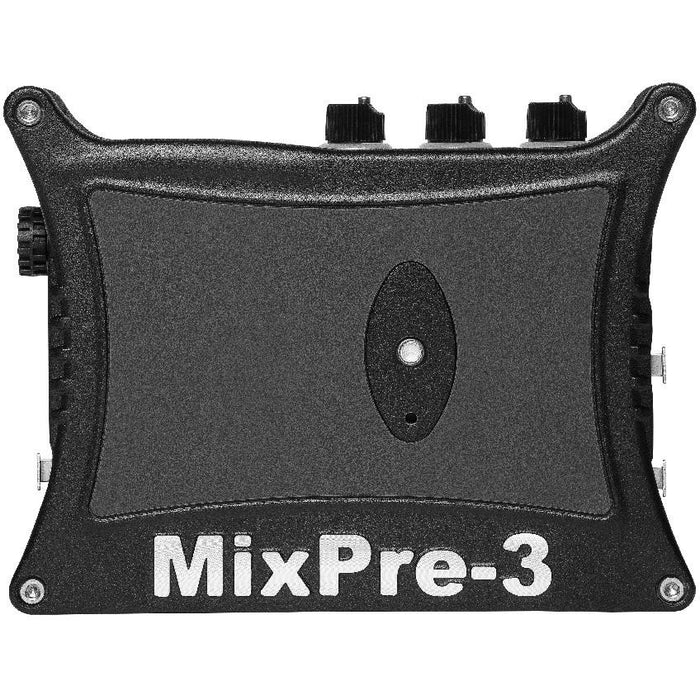Sound Devices MixPre-3 II - 3 XLR input 5-track audio recorder (3+2ch Mix) with USB Audio Interface
