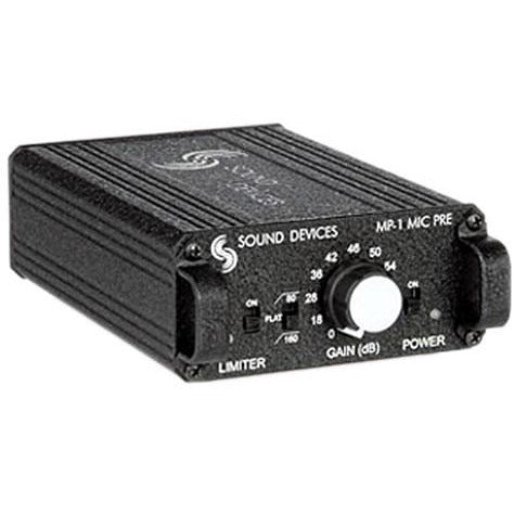 Sound Devices MP-1 portable Single Channel Mic Preamp