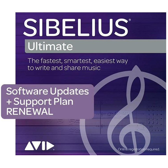 Sibelius Ultimate Renewal