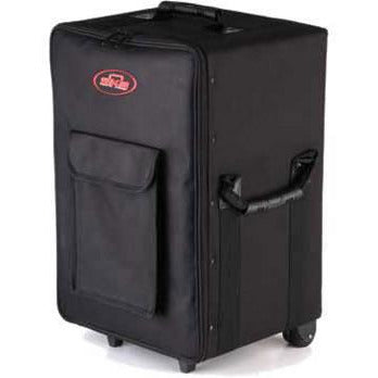SKB SCPM1 - Small Rolling Powered Mixer Case with wheels and handle