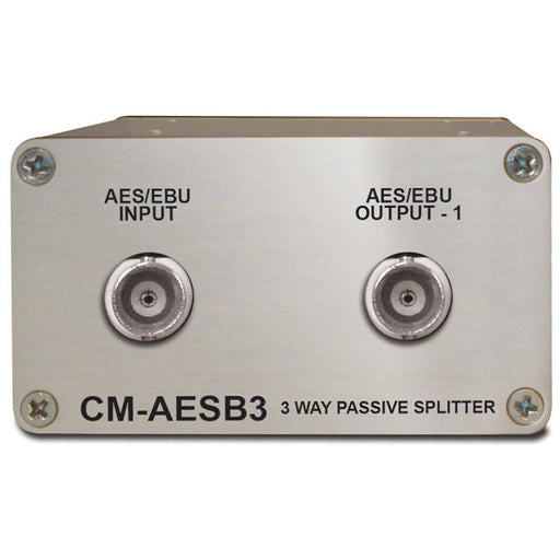 Sonifex CM-AESB3 - Single 3 Way Passive AES3ID Splitter With BNC Connectors