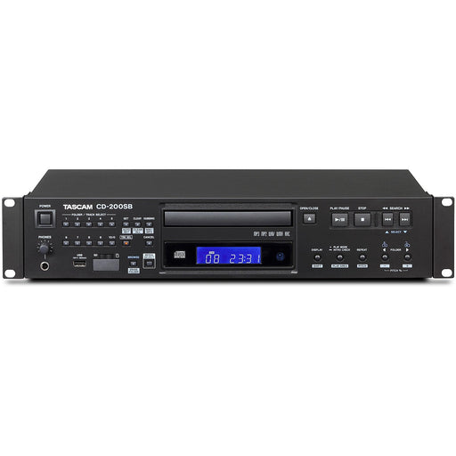 Tascam CD200SB 2U Solid-State and CD Player
