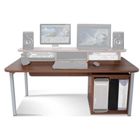 TD Big Bench - Work Station with 12U Rack. Available in White and Walnut