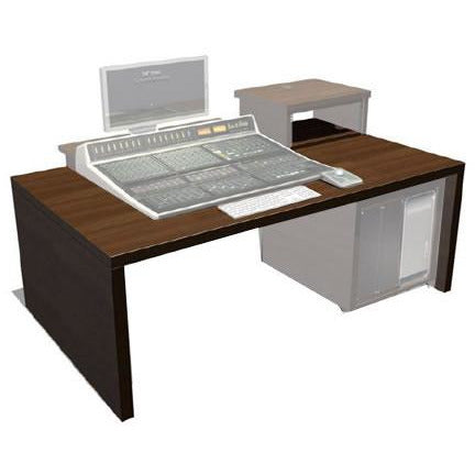 TD SSL Matrix - Slab desk with SSL Matrix cut through