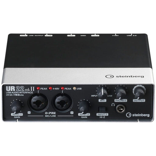 Steinberg UR-22 MKII - USB Audio Interface Front