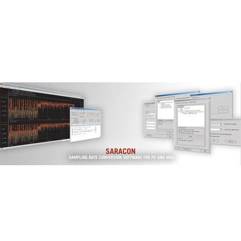 Weiss Saracon - PCM and DSD Sampling Rate Converter for Mac/PC