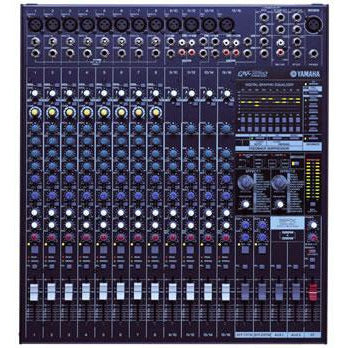 Yamaha EMX5016CF Powered Mixer - 16 input, 2 x 500 watts