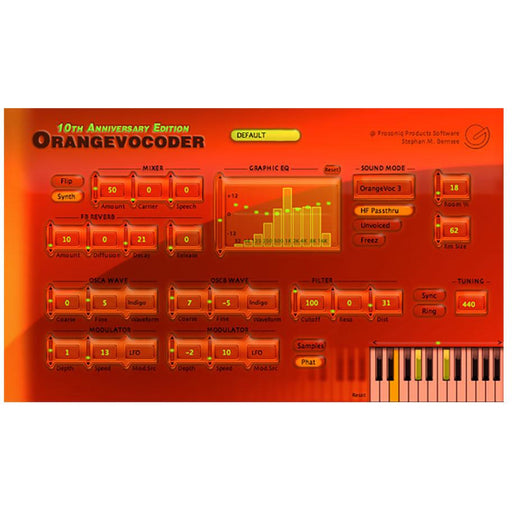Zynaptiq Orange Vocoder