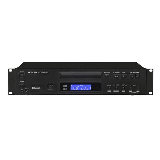 Tascam CD200BT Rackmount CD player with Bluetooth
