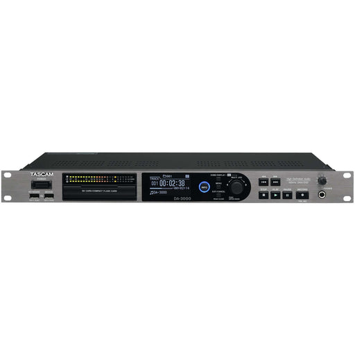 Tascam DA-3000 - High-definition audio recorder or AD/DA converter