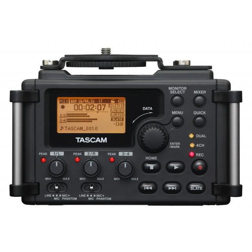Tascam DR-60DMK2 - 4-track Solid-State Recorder Designed for DSLR