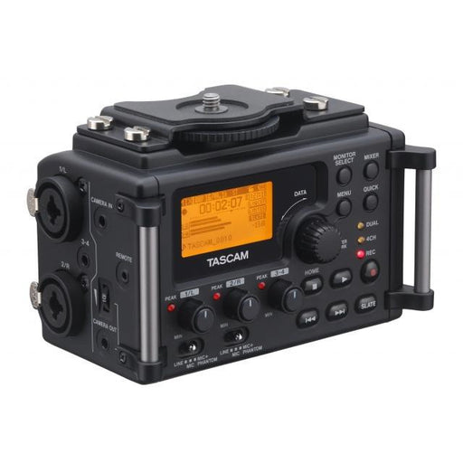 Tascam DR-60D - 4-track Solid-State Recorder Designed for DSLR