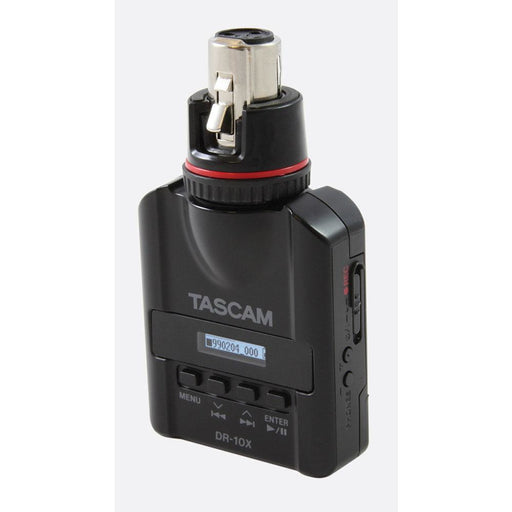 Tascam DR-10X - Mic-Attachable Audio Recorder front