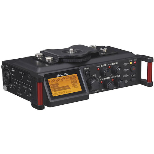 Tascam DR-70D - Professional audio recorder for DSLR cameras