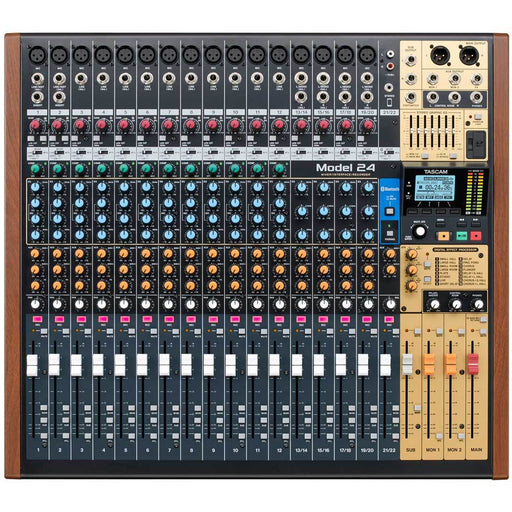 Tascam Model 24 - 22-Channel Analogue Mixer With 24-Track Digital Recorder