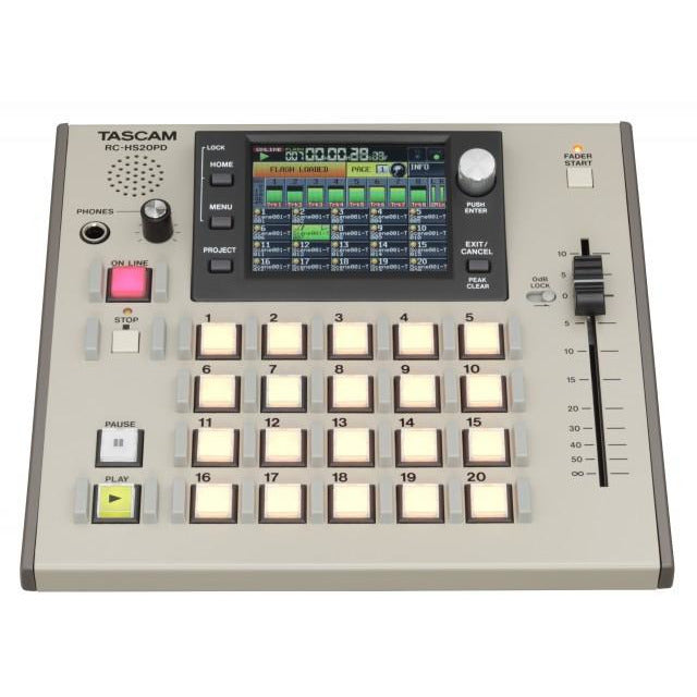 Tascam RC-HS20PD - FlashStart Controller for HS Recorders