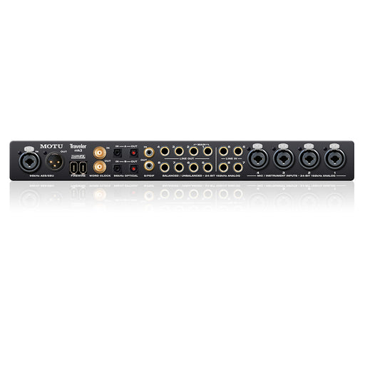 MOTU Traveler MKIII - Mobile Audio Interface - FireWire