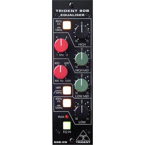 Trident Series 80B-500EQ - 4-Band EQ - 500-Series Module