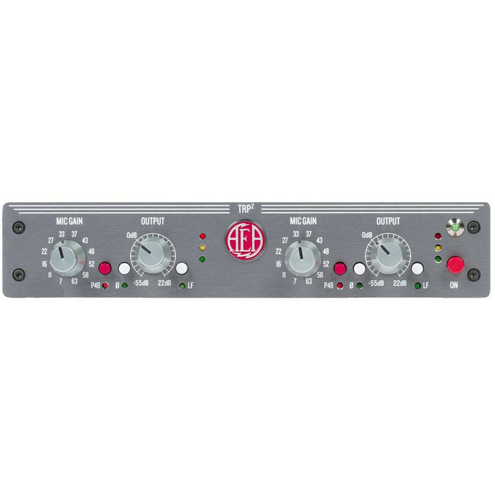 AEA TRP2 Ribbon 2-Channel Mic Preamplifier