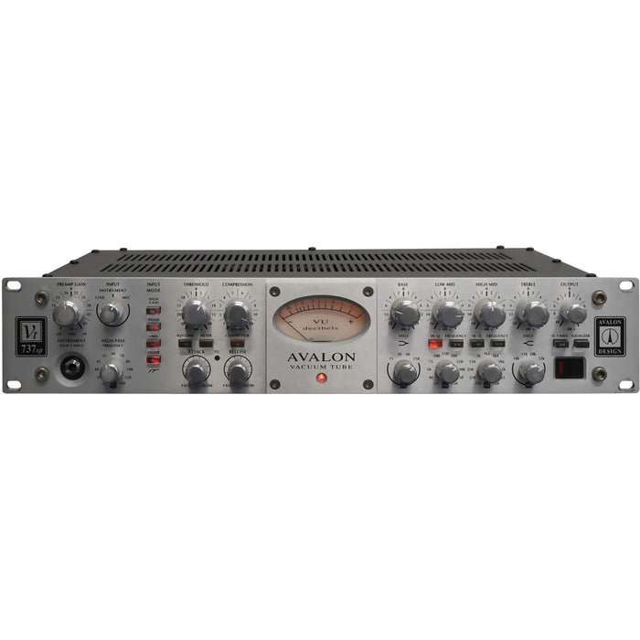 Avalon VT737SP Channel Strip - Tube Microphone / Instrument Pre-amp, Opto-compressor and Sweep Equalizer
