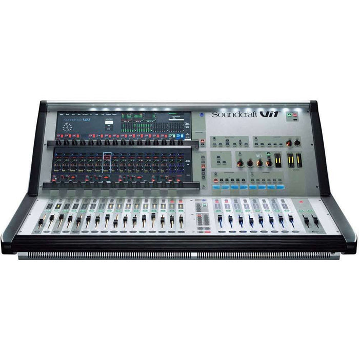 Soundcraft Vi1 Digital Mixing Console and Mini Stagebox 32 Bundle Front