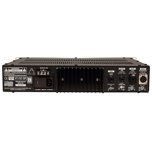 Avalon VT737SP Tube / class A voice channel - Black