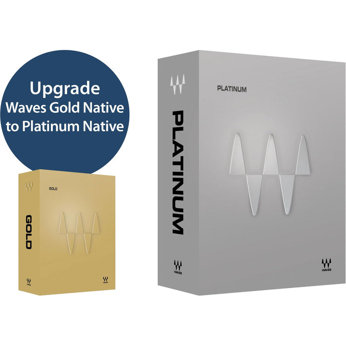 Waves Platinum Native Bundle Upgrade from Gold Native