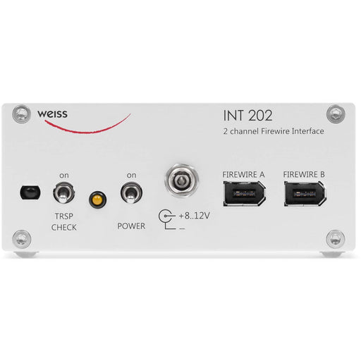 Weiss INT202 - 2 Channel Firewire, AES/EBU and S/PDIF Interface