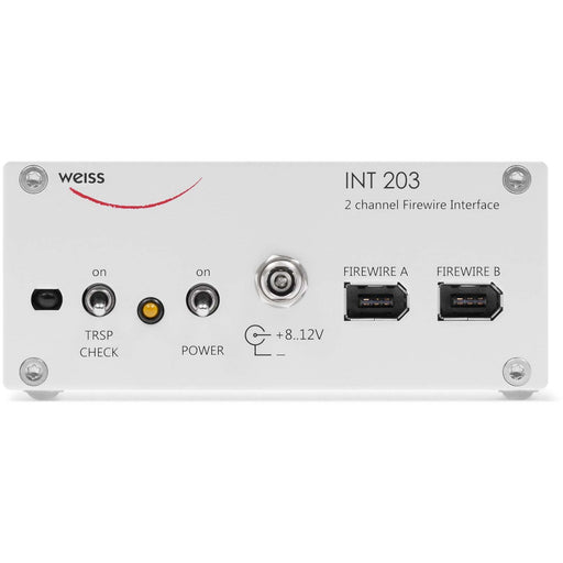 Weiss INT203 - 2 Channel Firewire, AES/EBU and S/PDIF Interface