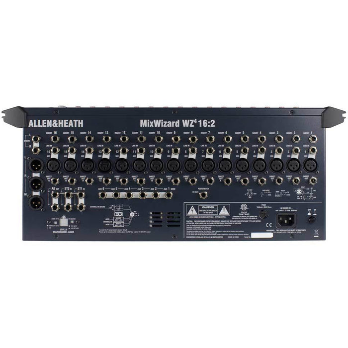 Allen & Heath WZ4 16:2 Wizard 4 16:2 - Pro RM Mixer with 16 inputs and Built-In FX