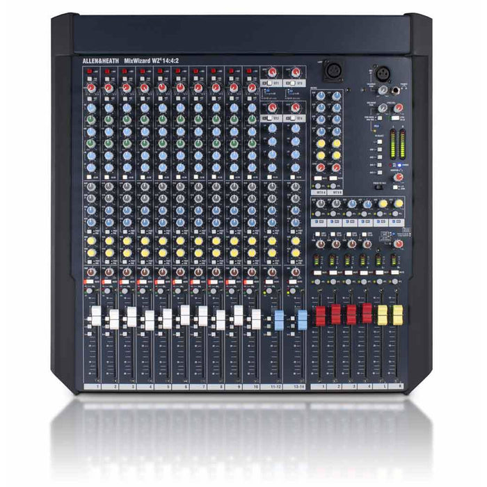 Allen & Heath WZ4 14:4:2 Wizard 4 14:4:2 - Pro RM Mixer with 14 inputs, 4 Audio Groups (FOH/Monitors)