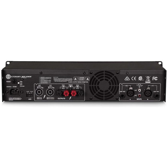 Crown XLS 1002 Amplifier -  350W @ 4 Ohms