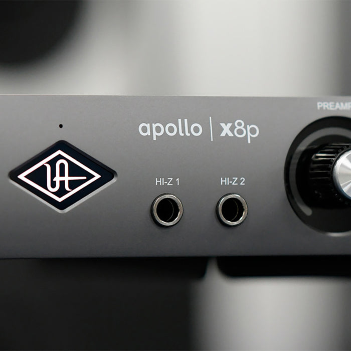 Universal Audio Apollo X8P - Thunderbolt 3 Audio Interface (Mac/Win) - Manufacturer Refurbished & Sealed