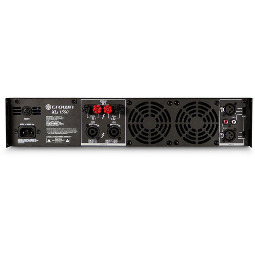 Crown XLi1500 Amplifier - 450W @ 4 Ohms