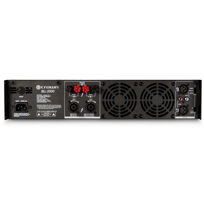 Crown XLi2500 Amplifier - 750W @ 4 Ohms