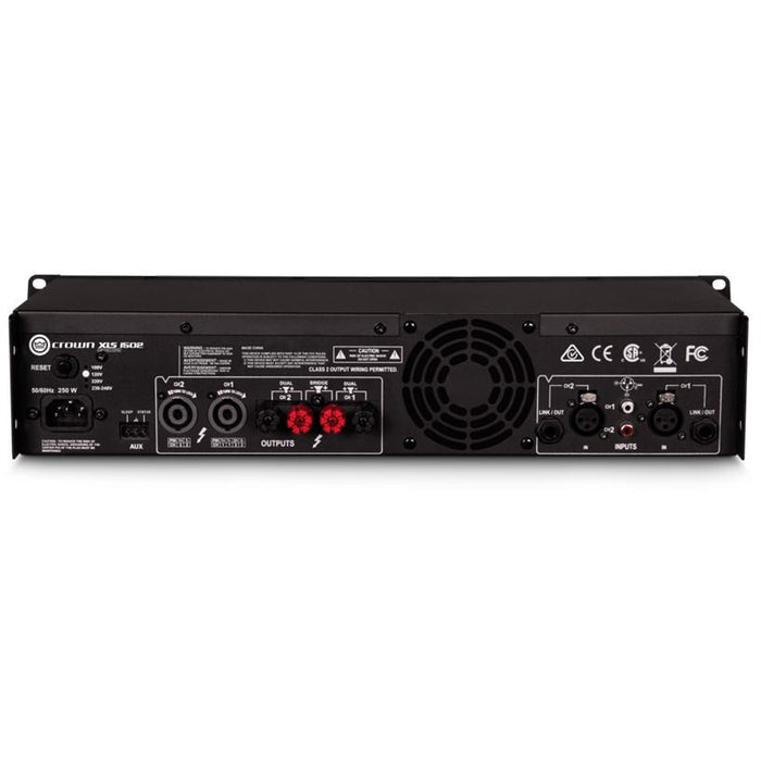 Crown XLS 1502 Amplifier - 525W @ 4 Ohms