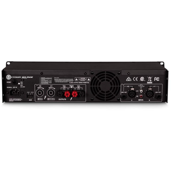 Crown XLS 2502 Amplifier - 775W @ 4 Ohms
