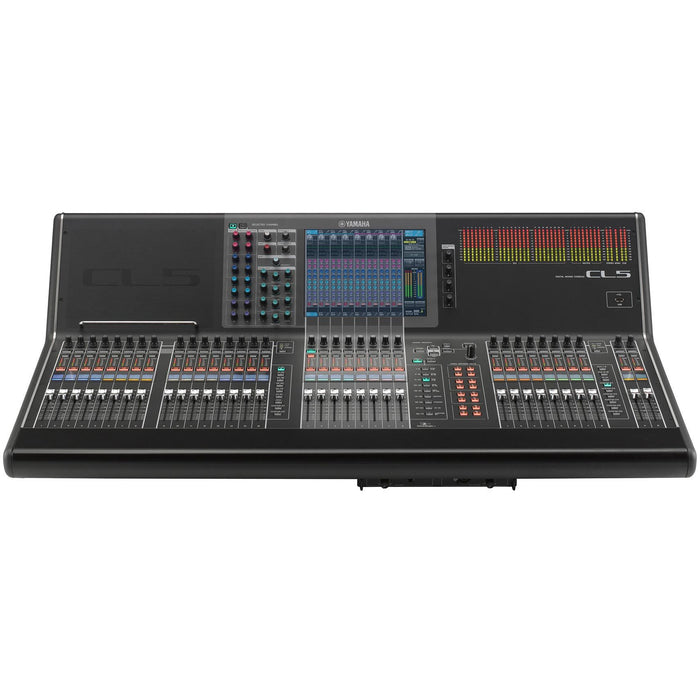 Yamaha CL5 - 72 mono, 8 Stereo Digital Mixing Console with iPad Support Front