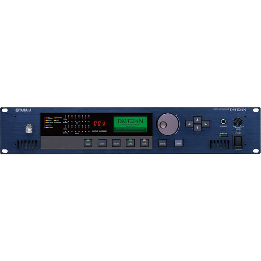 Yamaha DME24N Programmable Digital Audio Engine Front