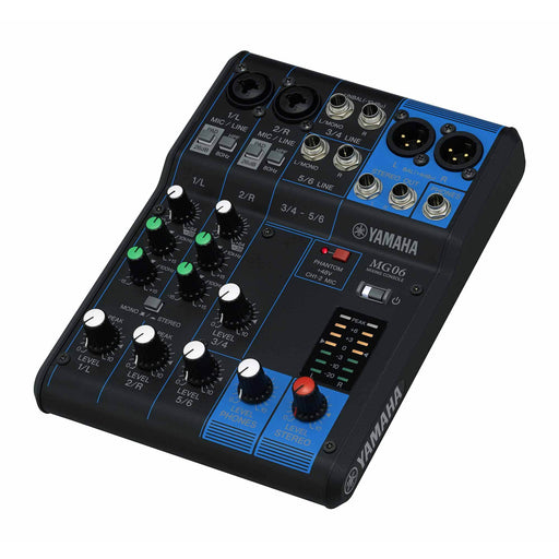 Yamaha MG06 - 6 Channel Compact Mixer